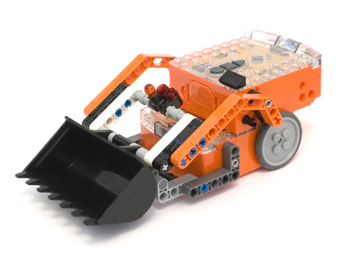 Robot Digger made from LEGO Bricks | EdBook3 for Edison
