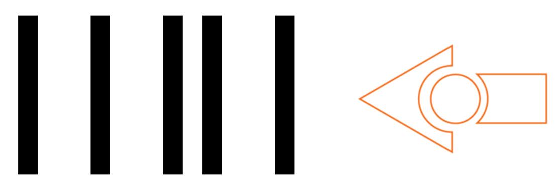 Barcode to make Edison a light following robot