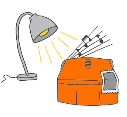 Perform in the spotlight Edison robot activity