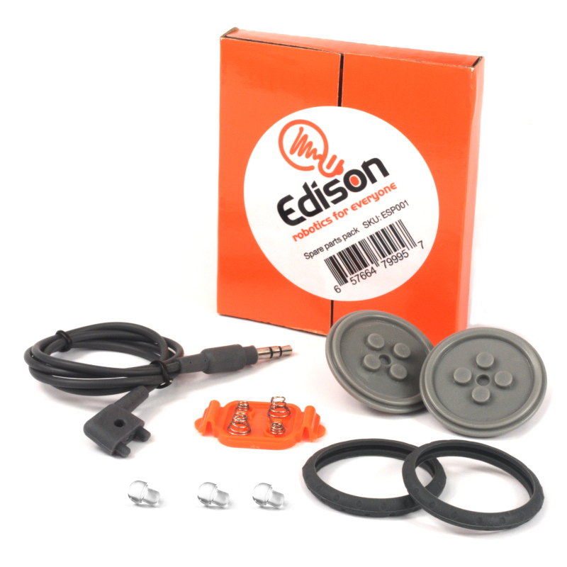 Buy a spare parts pack for the Edison robot - replace a lost or broken part