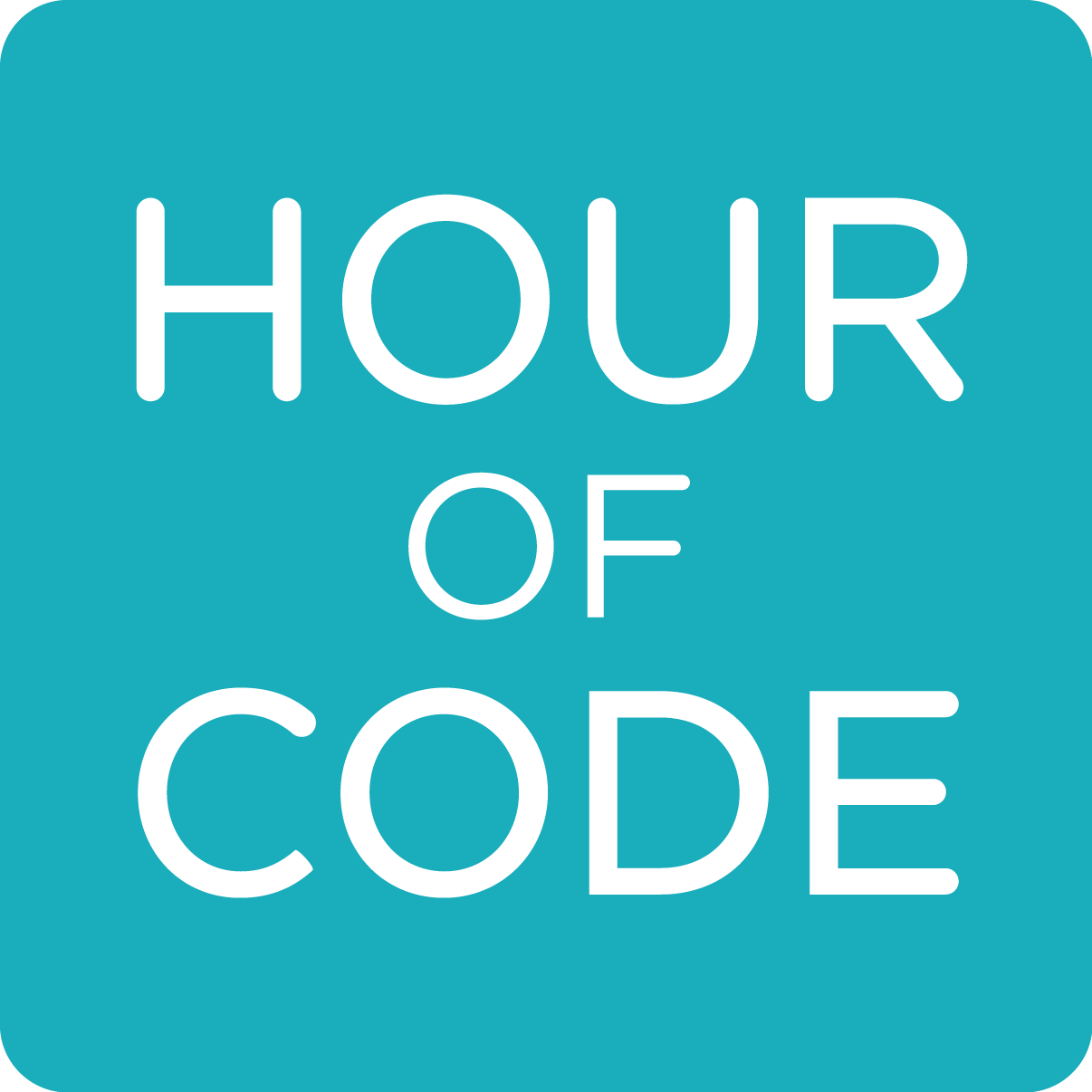 The 'Hour of Code' logo