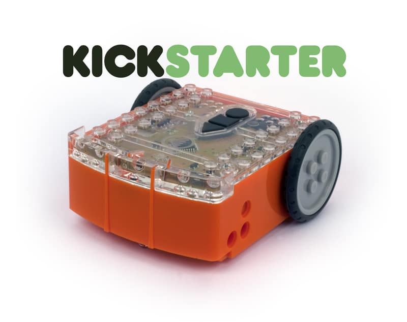 Edison robot on kickstarter