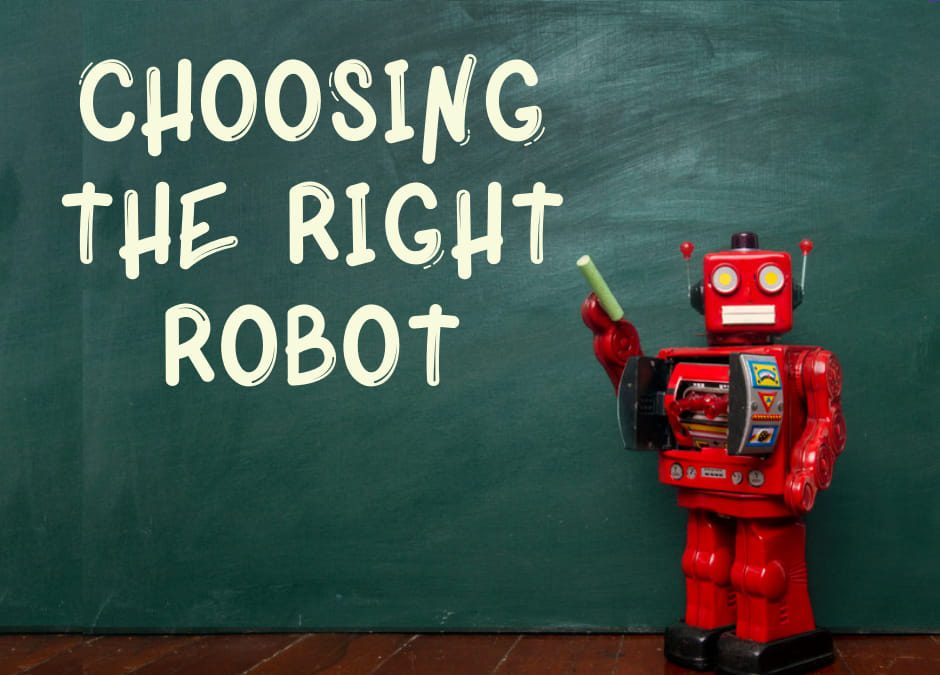 How to choose the right type of robot for your classroom