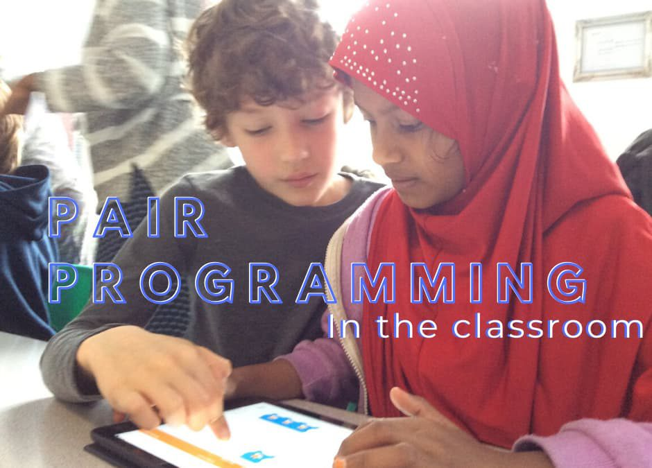 What is pair programming and why use it in the classroom?
