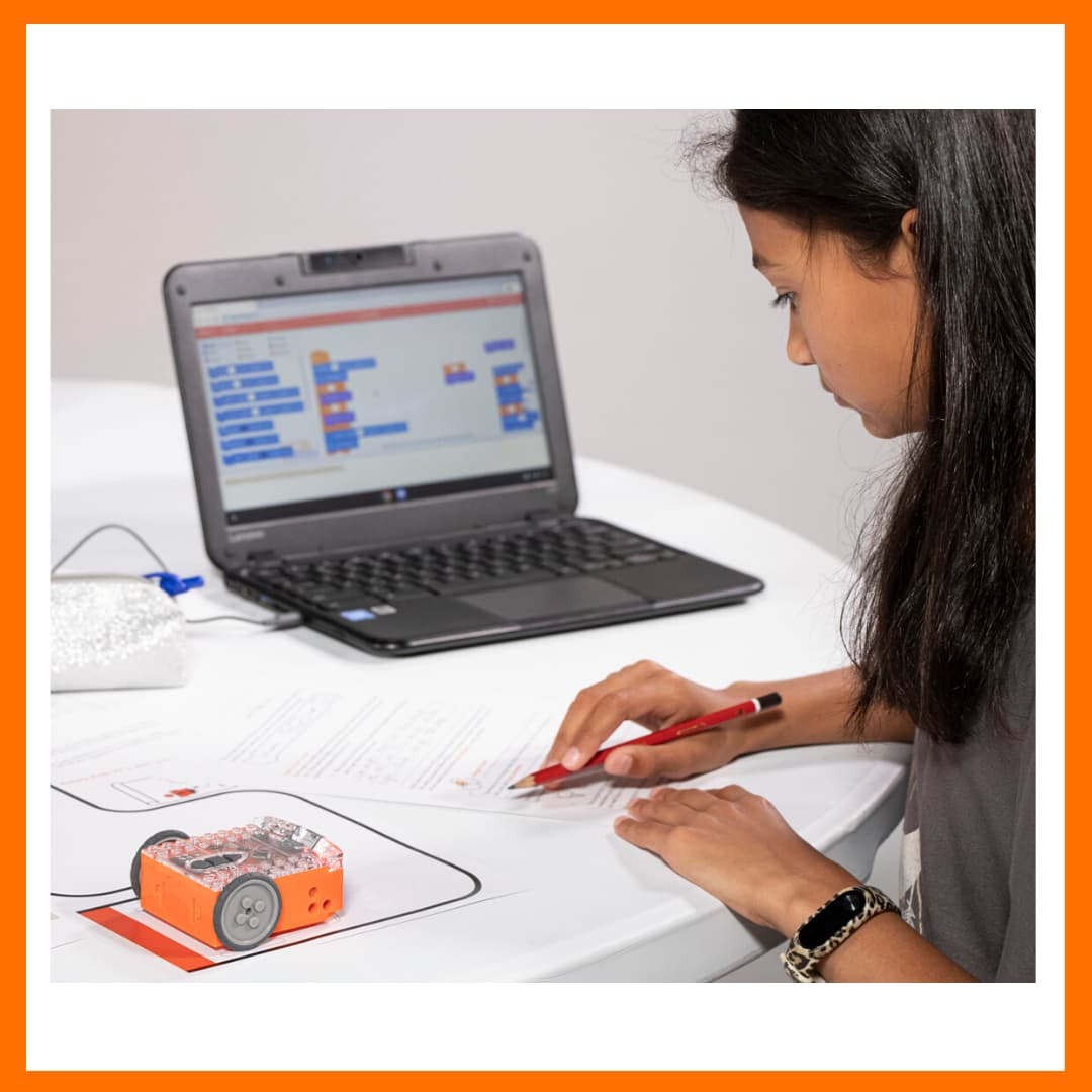 Learn to code with Edison robots and EdScratch.